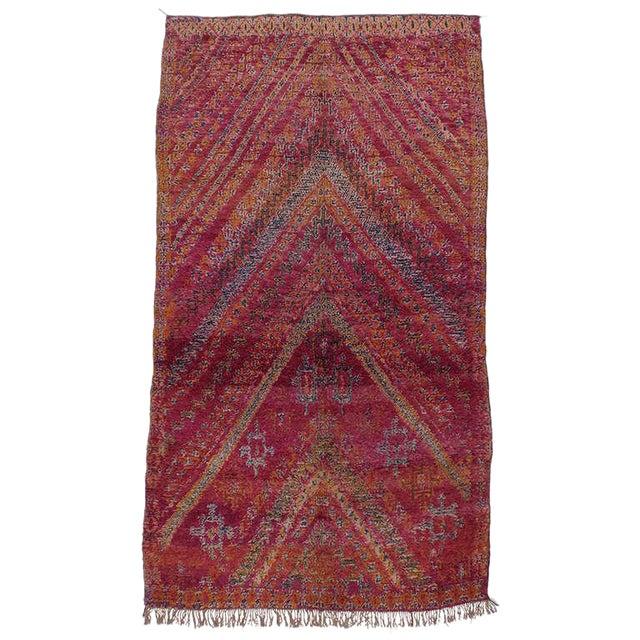 Beni Mguild Moroccan Berber Carpet For Sale