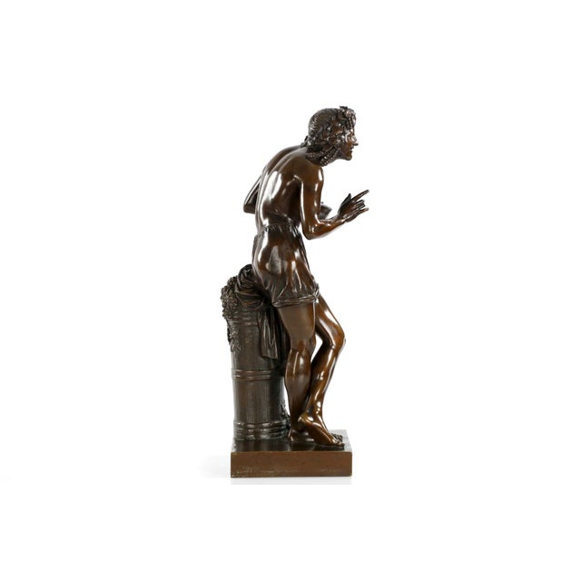 "François-Joseph Duret ""Improvisateur"" Bronze Sculpture - Image 7 of 10"