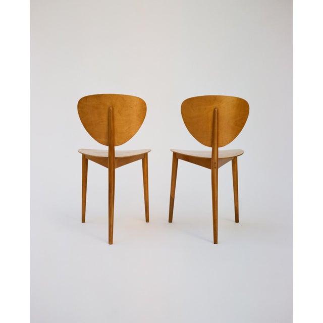 Max Bill Max Bill Tripod Chairs, 1949 For Sale - Image 4 of 6