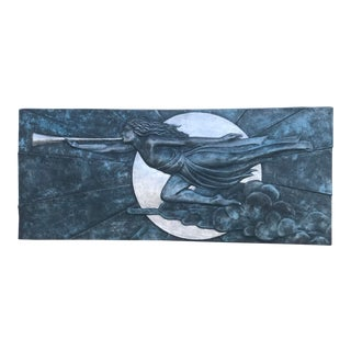 Art Deco Inspired Wall Frieze For Sale