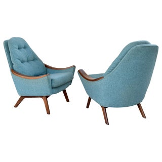 Adrian Pearsall Papa Bear Lounge Chairs For Sale