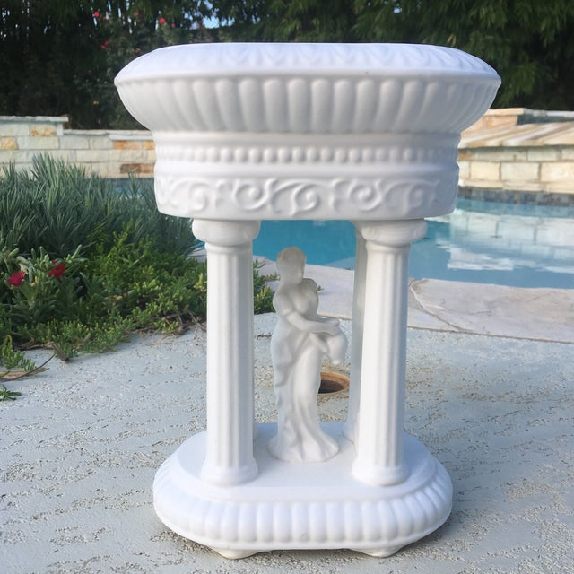 Mid-Century Neoclassical Matte Finish Planter For Sale - Image 11 of 11