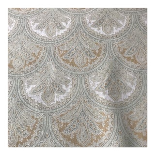 "Elizabeth Eakins ""Amelia Park"" Linen Fabric For Sale"