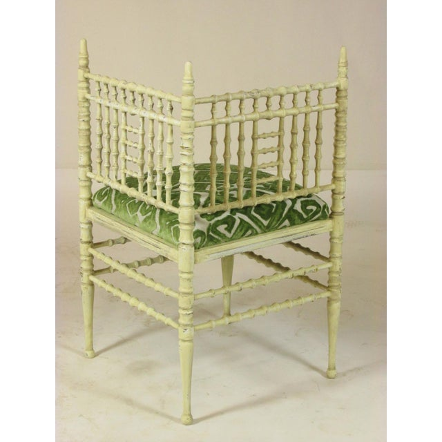 19th Century Corner Chairs - a Pair For Sale - Image 4 of 11