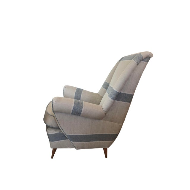 Mid-Century Modern Mid-Century Modern Italian Lounge Chairs - Set of 4 For Sale - Image 3 of 7
