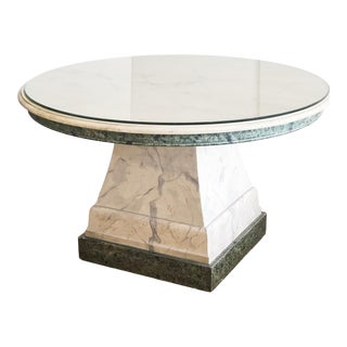 Italian Faux Painted Center Dining For Sale