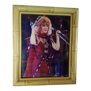 Autographed Stevie Nicks Photo For Sale