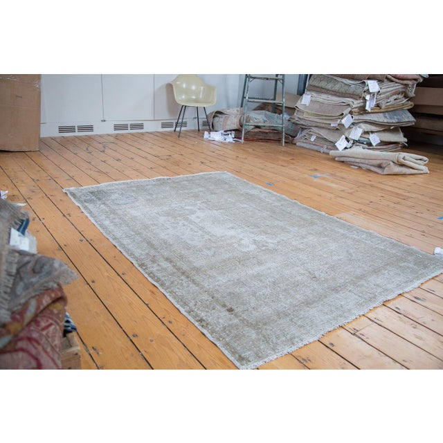 "Distressed Oushak Rug - 4'8"" X 7' - Image 7 of 10"