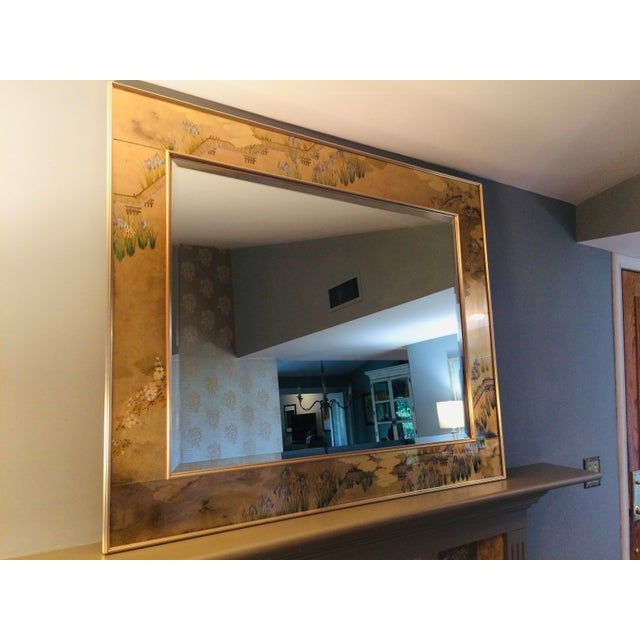 Asian 1980s La Barge Chinoiserie Mirror For Sale - Image 3 of 13