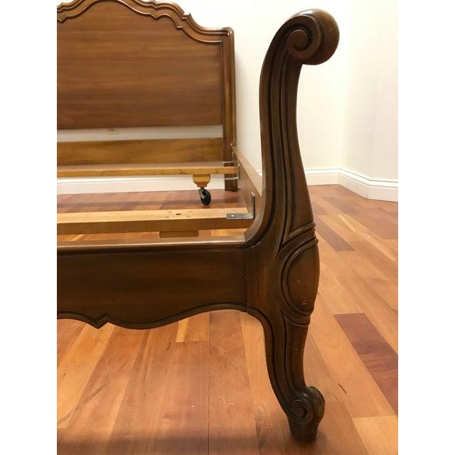 John Widdicomb John Widdicomb Maker of Fine Furniture Full Double Bedframe For Sale - Image 4 of 13
