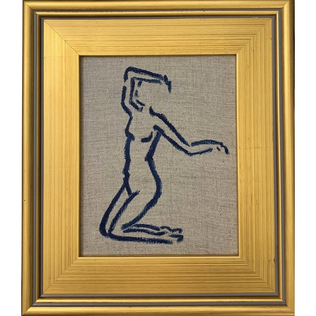 Lindsey Weicht Dancing Female Framed Painting For Sale