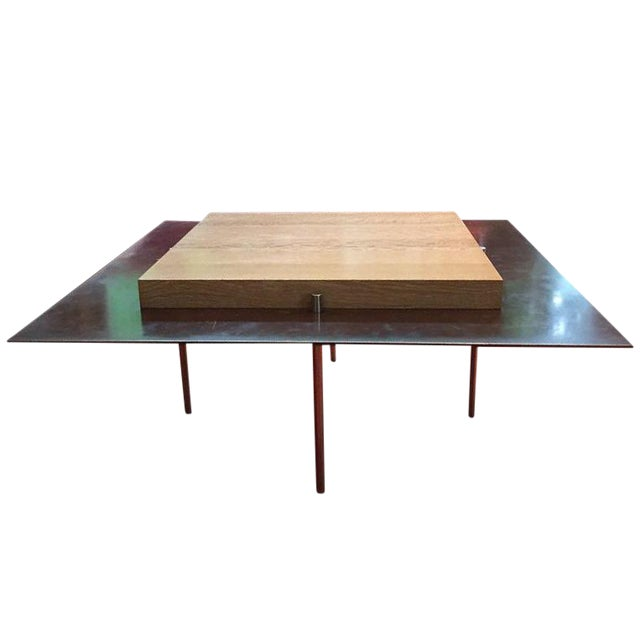Morlen Sinoway Contemporary Cocktail Table For Sale