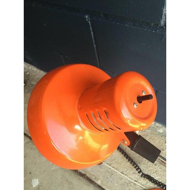 Mid-Century Orange Task Desk Lamp - Image 4 of 6