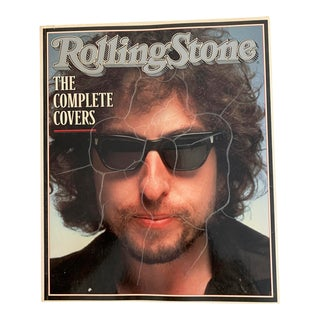 Vintage Rolling Stone Complete Covers Photo Book For Sale