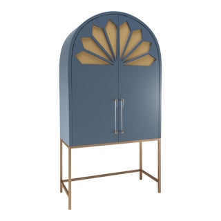Calzada Secretary Desk - Newburyport Blue For Sale