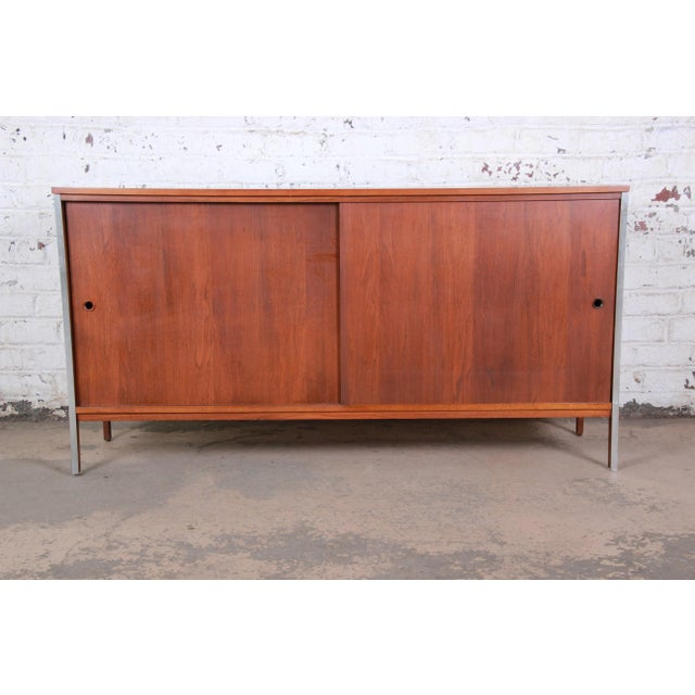An exceptional mid-century modern sideboard or credenza designed by Paul McCobb for his Linear Group line for Calvin...