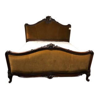 Ralph Lauren Duchess King Bed For Sale