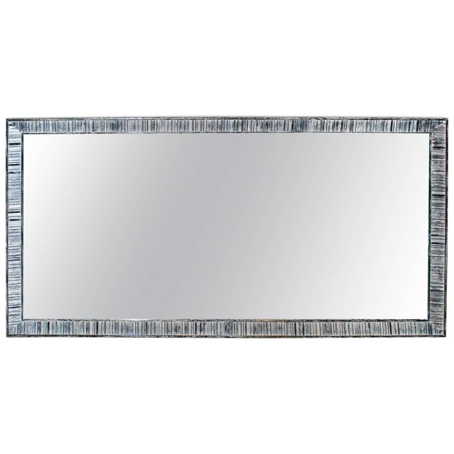 Paul Frankl for Brown Saltman Cerused Mirror For Sale In Los Angeles - Image 6 of 6