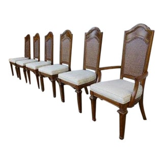 Thomasville Italian Neoclassical Dining Chairs - Set of 6