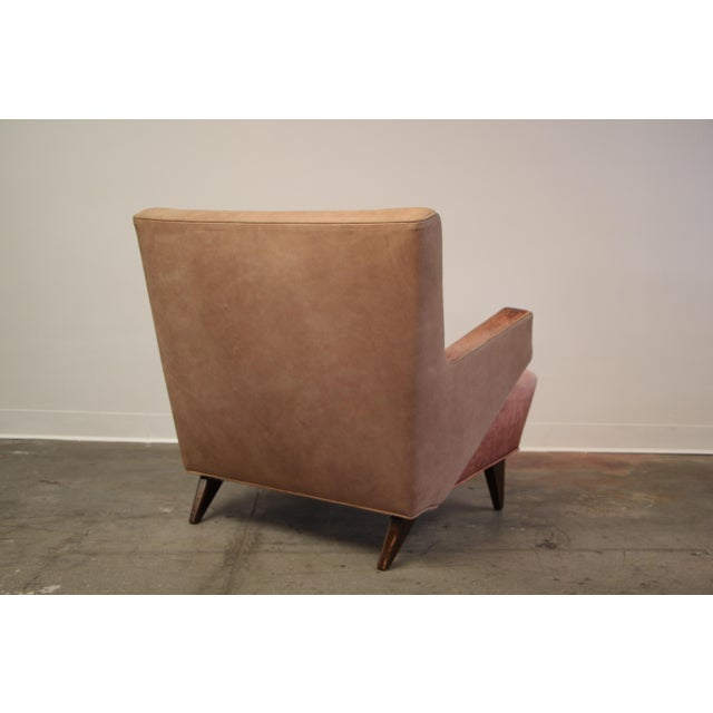Knoll 1950s Vintage Jens Risom for Knoll Custom Lounge Chair For Sale - Image 4 of 13