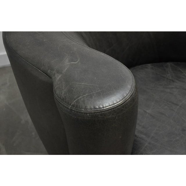 Directional Vladimir Kagan Nautilus Swivel Chairs For Sale - Image 4 of 7