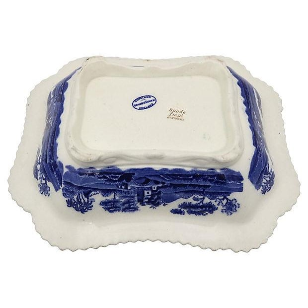 Antique Spode Tower Covered Dish For Sale - Image 5 of 5