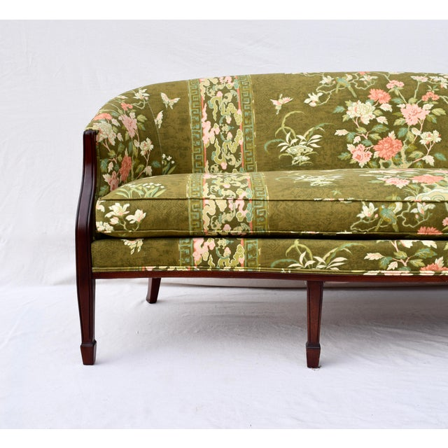Hickory Chair Furniture Company Hickory Chair Federal Hepplewhite Style Sofa For Sale - Image 4 of 13