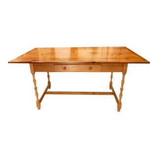 Pine Farmhouse Table with Leaves
