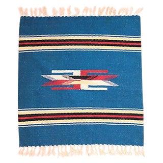 Chimayo Weaving - 1′7″ × 1′10″ For Sale