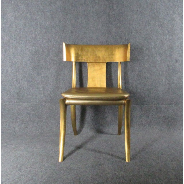 Vintage Mid-Century Modern Klismos Chairs- a Pair For Sale - Image 9 of 13