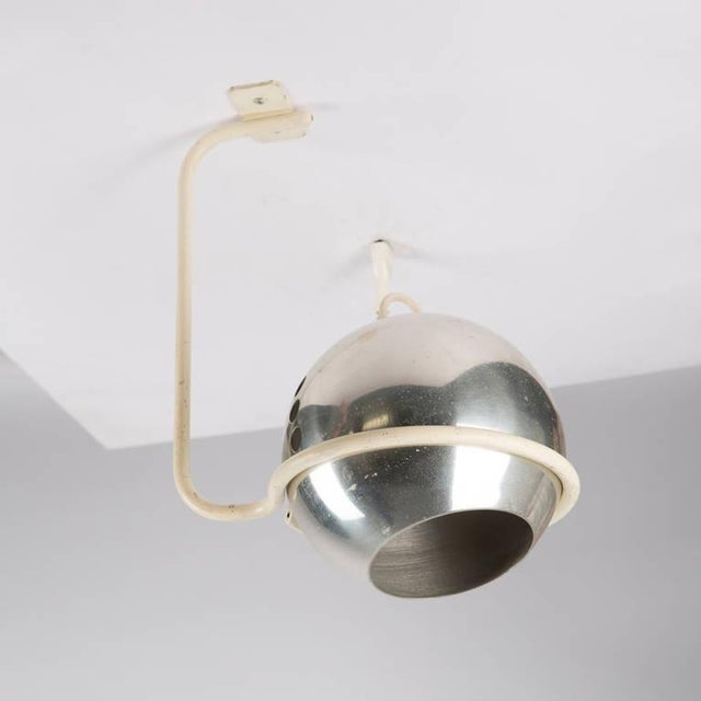Mid-Century Modern Set of Two Ceiling Lamps by Gino Sarfatti for Arteluce For Sale - Image 3 of 9