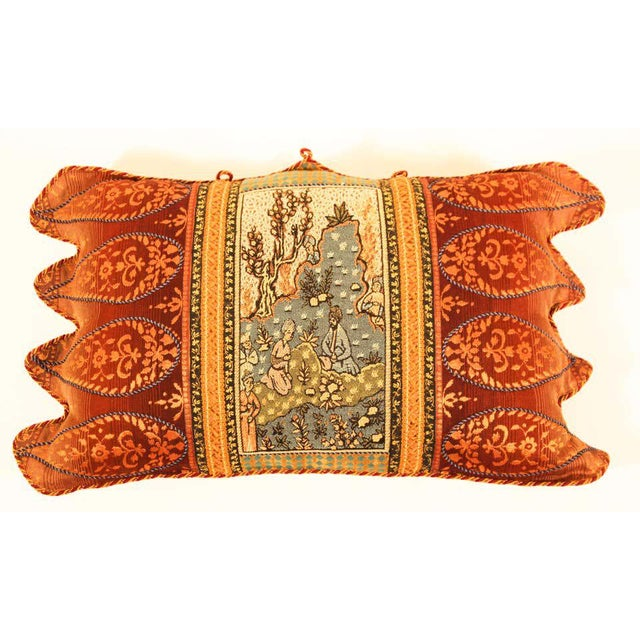 Middle Eastern Decorative Throw Pillow For Sale - Image 9 of 11