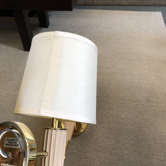 Brass Transitional Boyd Lighting Piedmont Sconces - a Pair For Sale - Image 7 of 12