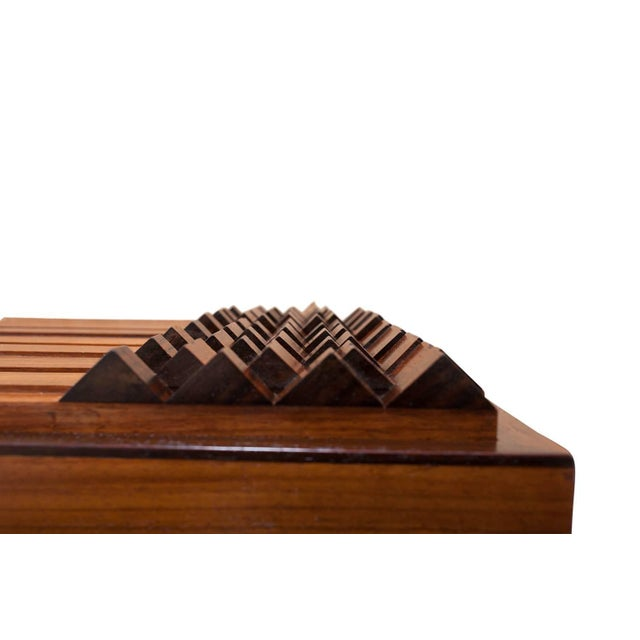Luciano Frigerio Chest of Drawers in Walnut For Sale - Image 9 of 12
