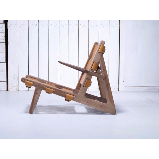 Børge Mogensen Borge Mogensen Inspired Hunting Chairs - a Pair For Sale - Image 4 of 9