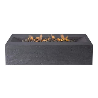 PyroMania Millenia Fire Pit Table - Charcoal Color, Natural Gas For Sale