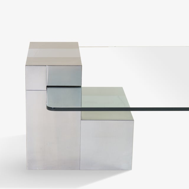 Cityscape Floating Cocktail Table by Paul Evans - Image 4 of 7