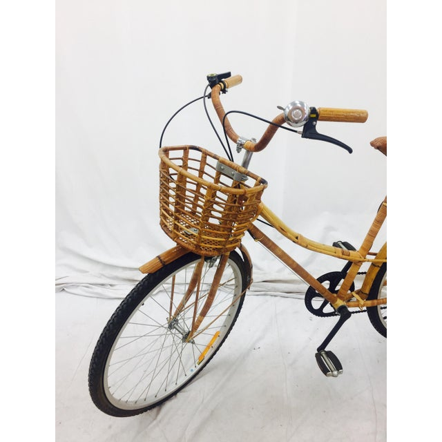 Vintage Bamboo Bicycle - Full Size - Image 7 of 11