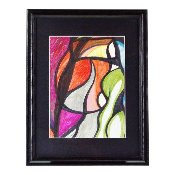 Abstract Pat Gallagher Signed Original Artwork For Sale