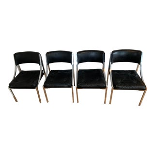 Art Deco Wolfgang Hoffmann for Howell Chairs- Set of 4 For Sale