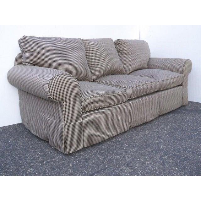 Glabman Furniture Plaid 3 Seater Sofa - Image 5 of 11