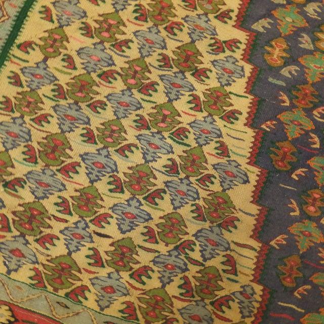 "Boho Chic Persian Kilim - 9'5"" x 5'7"" For Sale - Image 3 of 4"