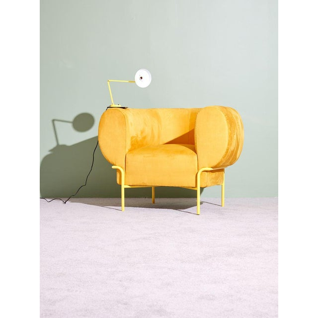 2010s Michael Felix Madda Chair in Yellow For Sale - Image 5 of 6