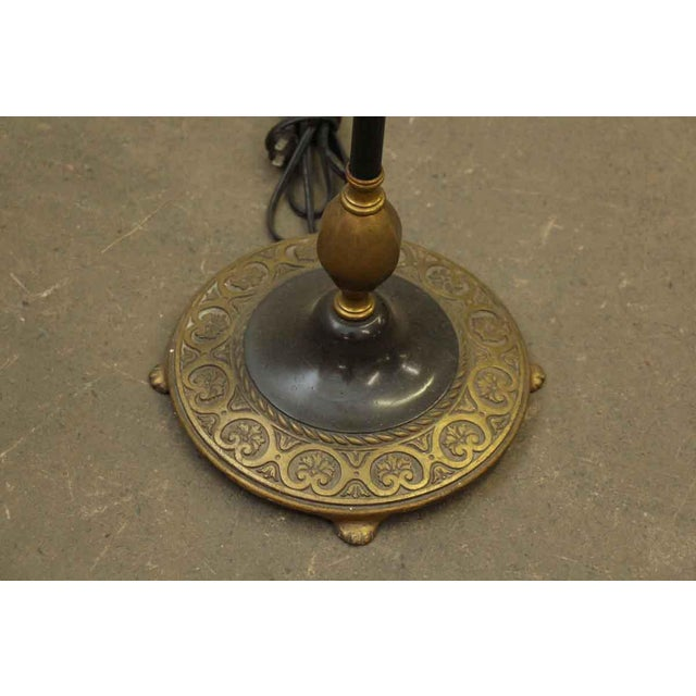 Black Black Floor Lamp For Sale - Image 8 of 10