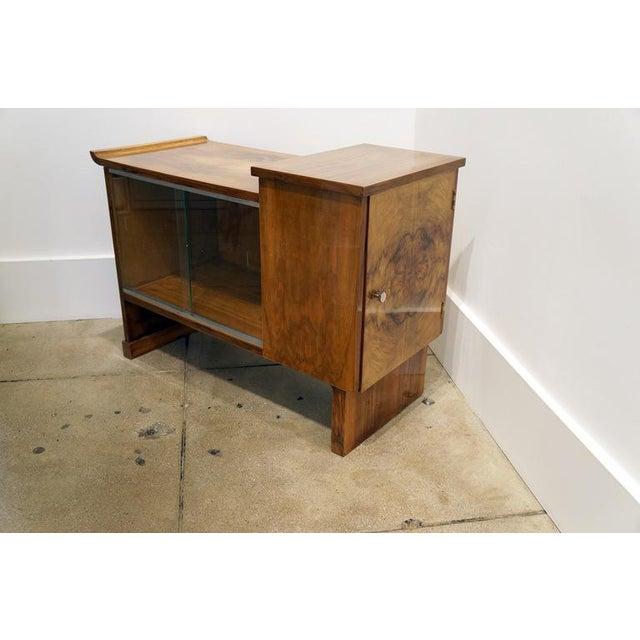 Art Deco Walnut Cabinet - Image 2 of 10