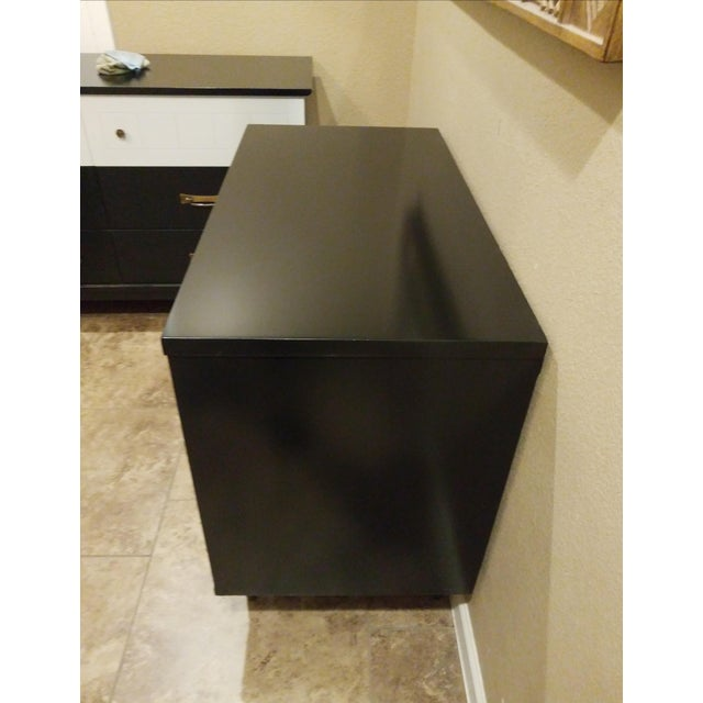 Kent Coffey, the Tableau Collection Walnut Nightstand or Media Cabinet - Image 5 of 6