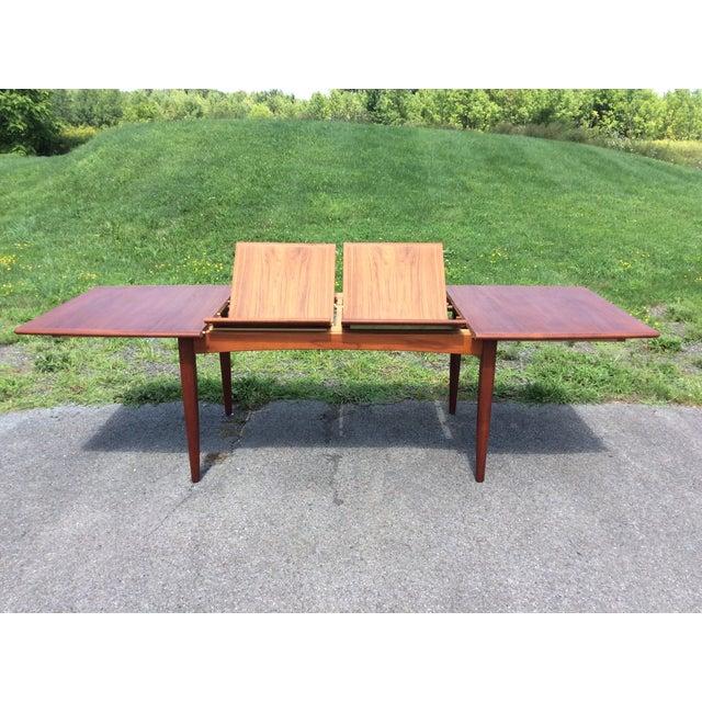 Refurbished Falster Teak Dining Table - Image 3 of 11