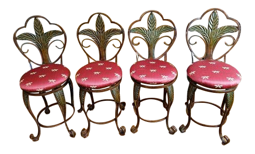 Vintage Used 24 Bar Stools For Sale Chairish