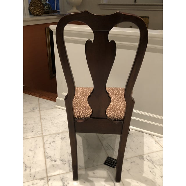 Drexel Heritage Queen Anne Style Dining Chairs Set Of Ten