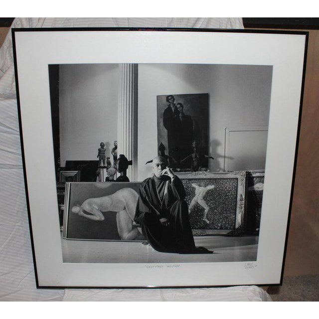 1987 Geoffrey Holder Photograph by Lance Evans For Sale In Palm Springs - Image 6 of 6